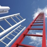 ladders and clouds
